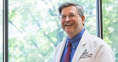 healthcare professional dr. fortenberry smiling