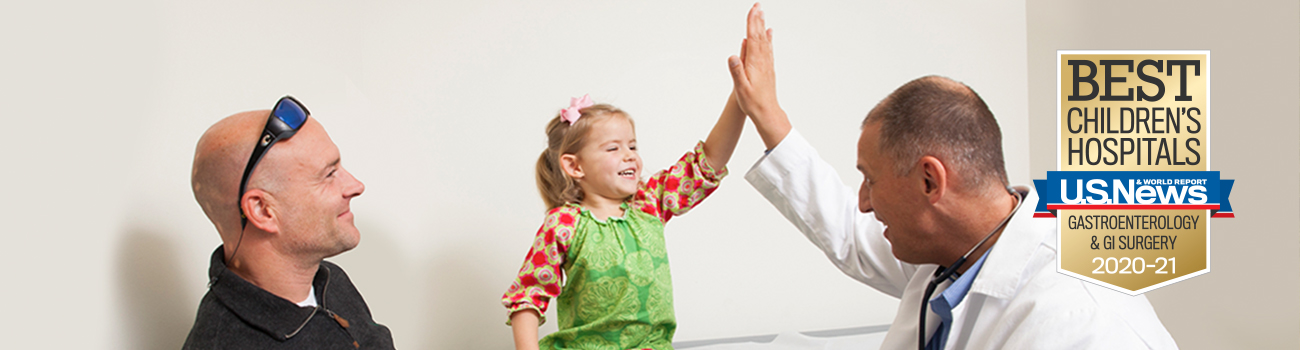 patient high fiving doctor