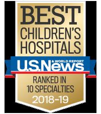 Mychart Children S Statement Of Nondiscrimination Us News Best Hospital Badge