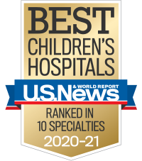 Best Children's Hospital 2020-2021